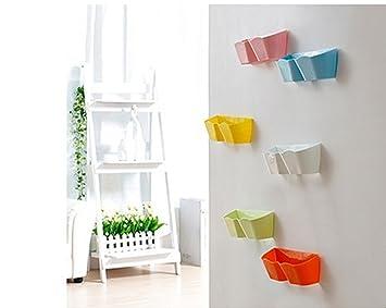 Yosoo 4stk Kreative Möbel Deko Kunststoff Schuhregal Für Die Tür Zum Hängen  Hängeorganizer Für Tür Schuhe