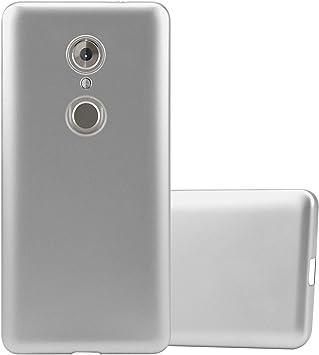 Cadorabo Funda para ZTE Axon 7 Mini en Metallic Plateado: Amazon ...