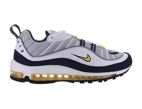 innovative design 5c019 fb1dc Nike Air Max 98 Wolf Grey - Tour Yellow - White - Midnight ...