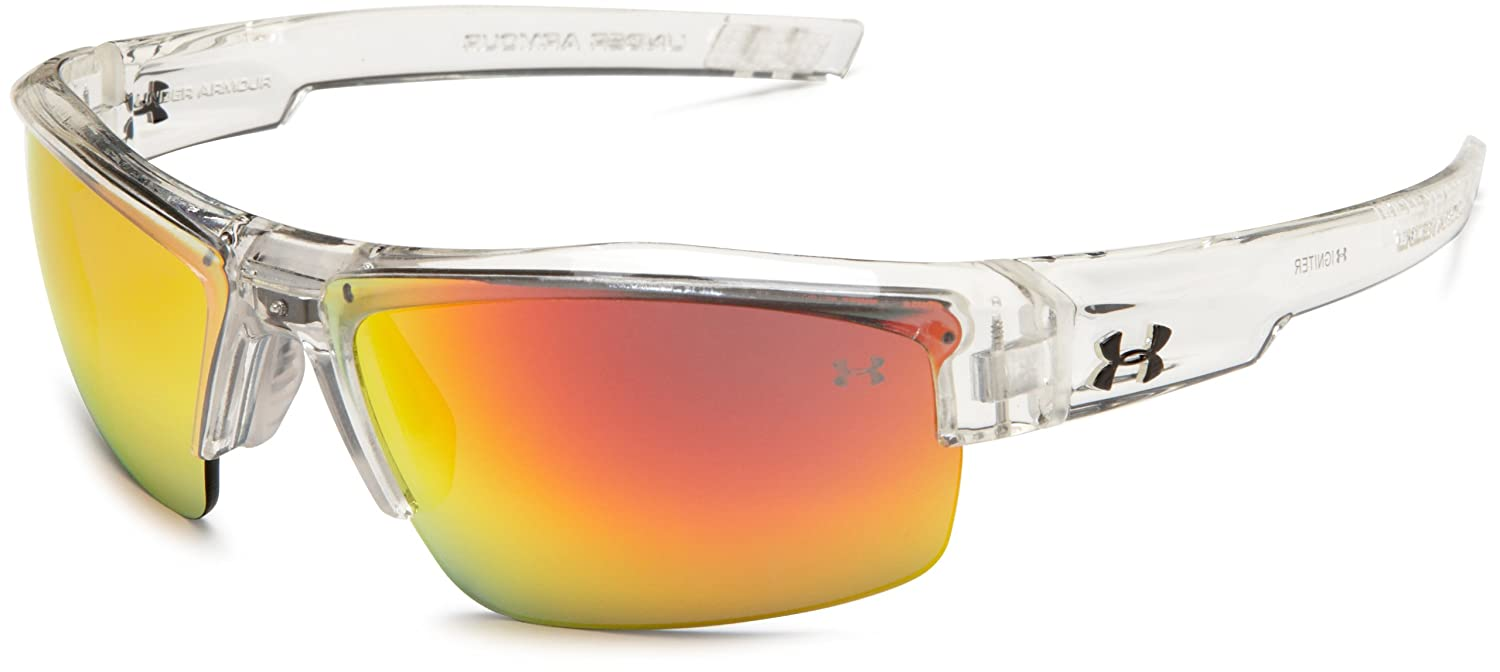 Amazon.com: Under Armour Igniter Multiflection Sunglasses, Crystal ...