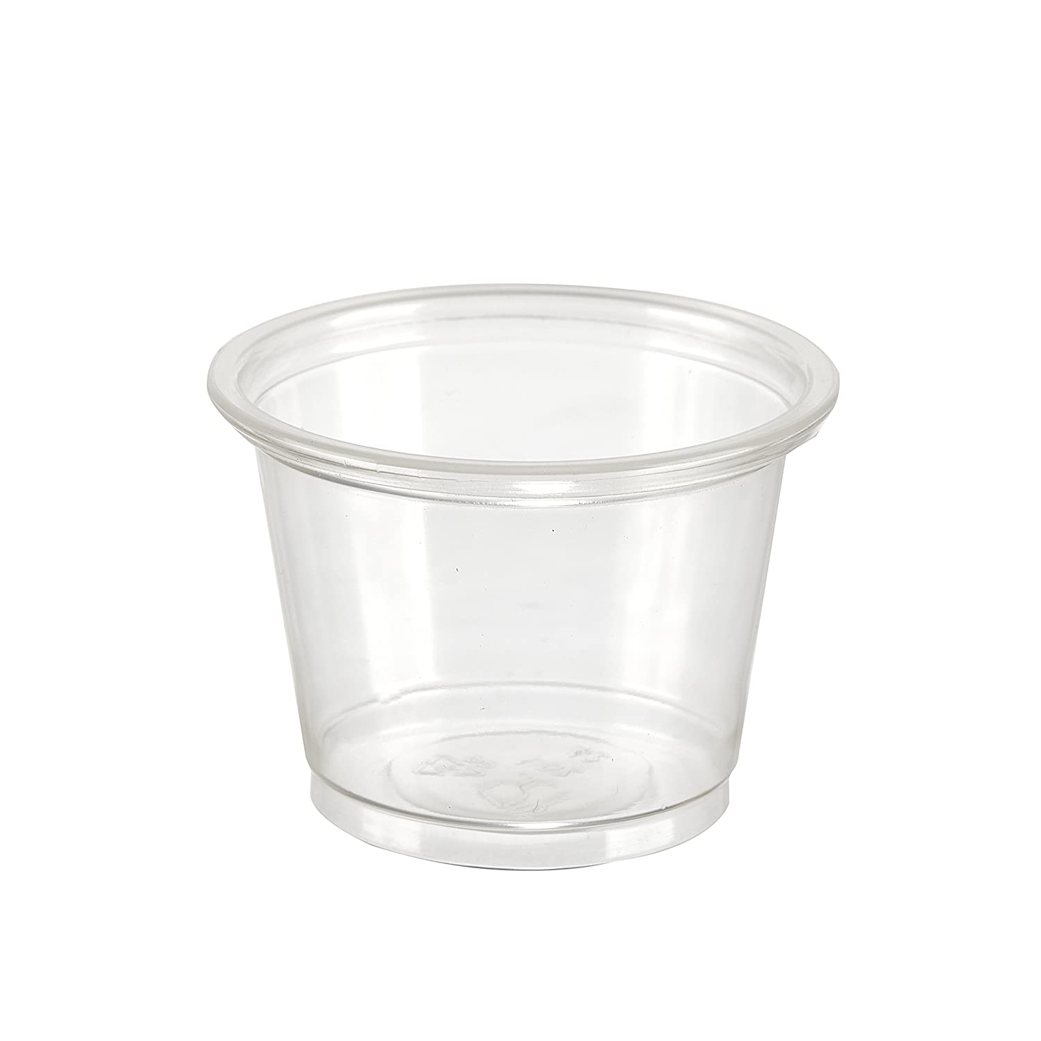 5.5 oz Clear Portion Pot And Lid x100 Packpack.co.uk