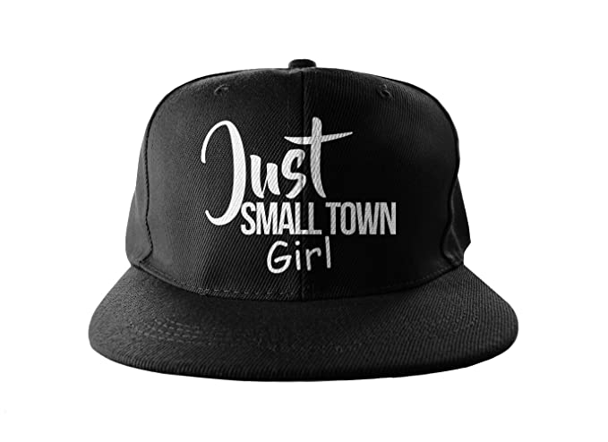 Just Small Town Girl Cool Swag Hip Hop Print Snapback Hat