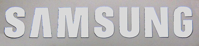 VATH Made Compatible Samsung Metal Sticker/Emblem/Badge 8 x 46mm [582]