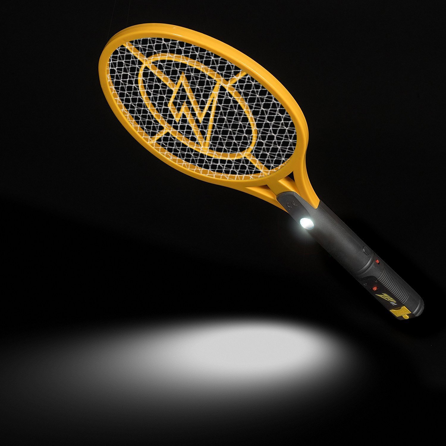 Zap It! Bug Zapper Racket, 4000V, USB Rechargeable, Twin Pack