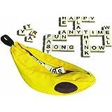 Tiduer Carino Gioco di Parole Giocattoli Educativi Scrabble Giochi di Parole Del Regalo di Compleanno Banana Grammi