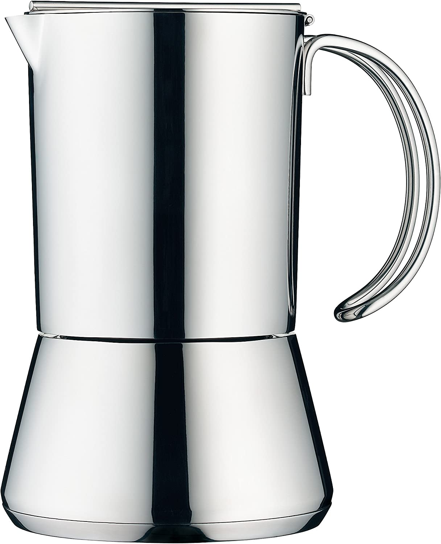 WMF - Cafetera Ex prés para 6 Tazas 18cm Altura Concept Inducción ...