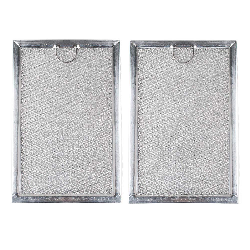 WB06X10309 Filter Microwave Oven Grease Filter for GE and Hotpoint Microwave-Aftermarket Replacement Filter Compatible with Frigidaire 5304464105, 2 Filters 19.3x12.8x0.2cm