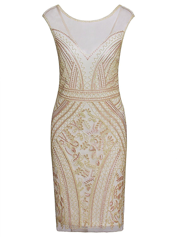 4ed28ddd Online Cheap wholesale Vijiv 1920s Short Prom Dresses V Neck Inspired  Sequins Cocktail Flapper Dress Dresses Suppliers