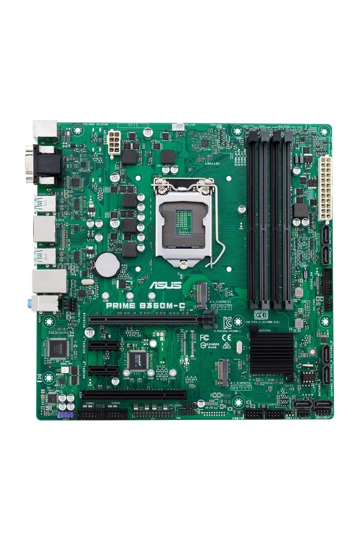 Amazon.com: ASUS Prime B360M-C/CSM LGA1151 (300 Series) DDR4 DP HDMI VGA M.2 mATX Motherboard: Computers & Accessories