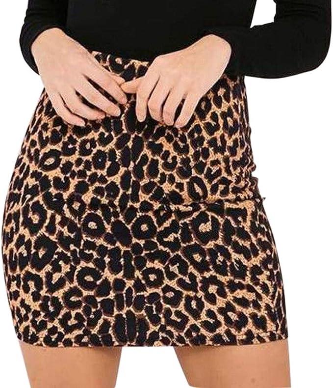 STRIR Vestido Mujer Mini Vestido Casual Leopardo de Inglaterra imprimió Retro de Mujeres Vestido de Playa niña Vestido de Fiesta Vestir Ropa Falda ...