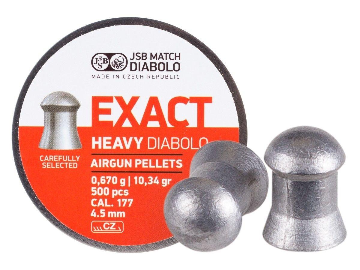 JSB Predator International Diablo Exact Heavy (546267-500) by JSB
