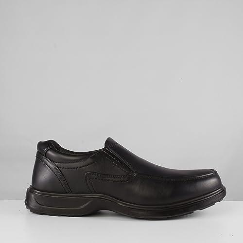 Dr Keller - Mocasines para hombre negro negro, color negro, talla 44: Amazon.es: Zapatos y complementos