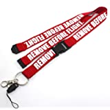 Rotary13B1 Remove Before Flight Lanyard - with Detachable Safety Buckle