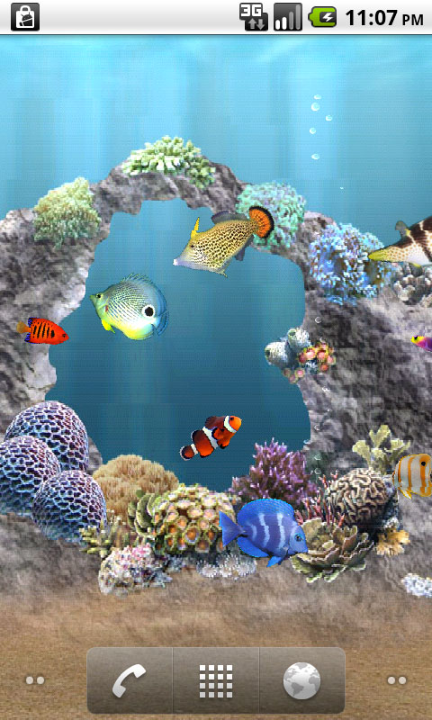 Amazon Com Anipet Marine Aquarium Live Wallpaper Free