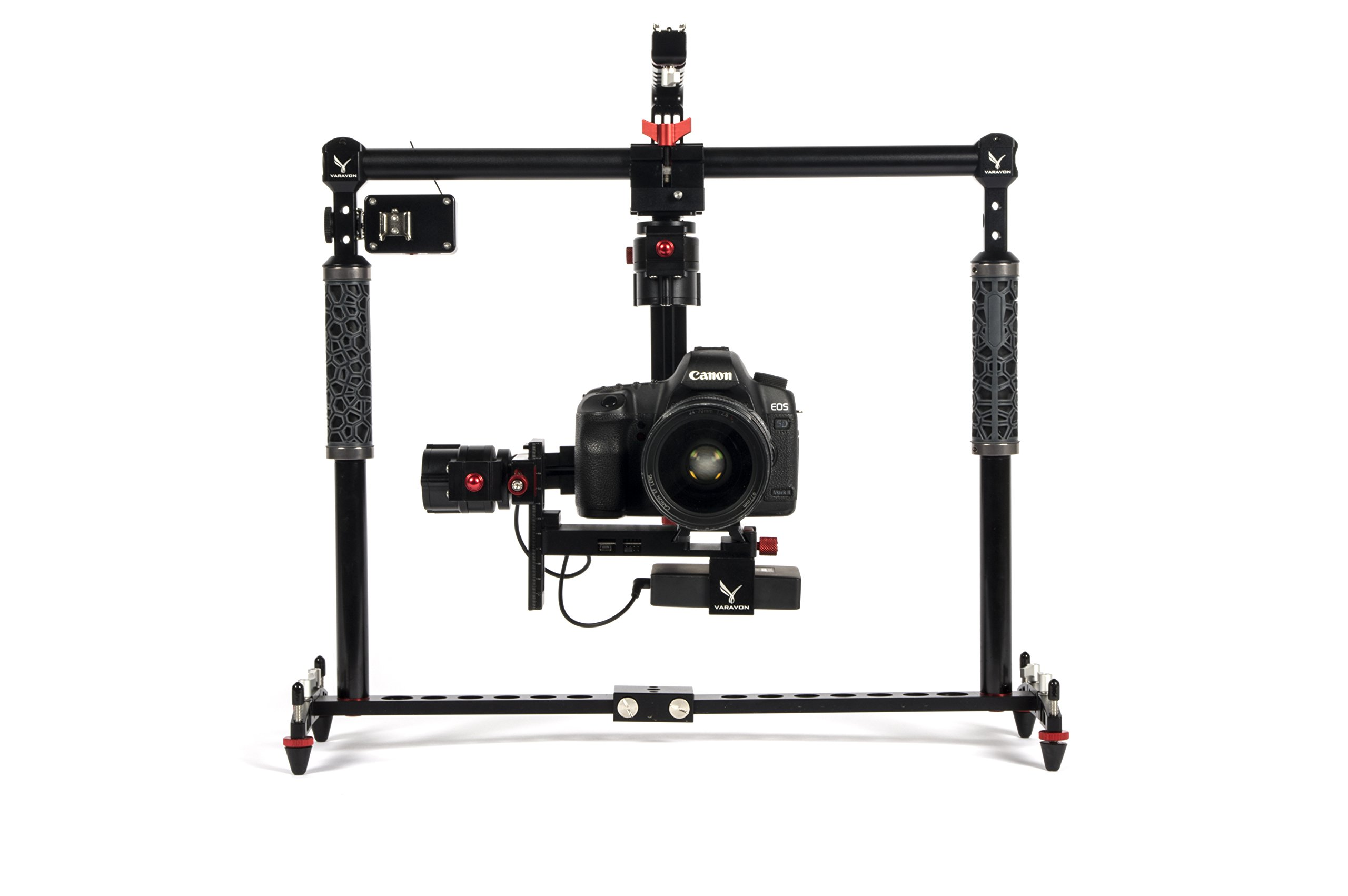 VARAVON 3AXIS STABILIZER BIRDYCAM LITE + Bestview BSY502-HD 5'' HD Camera Field Monitor by Varavon