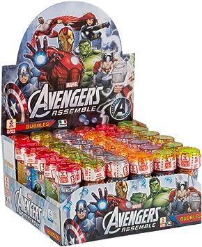 ColorBaby - Caja pomperos Avengers con 36 Unidades de 60 ml (24608): Amazon.es: Juguetes y juegos