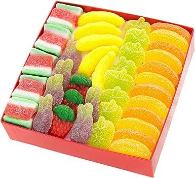 Caja Regalo Tutti Frutti, con dos (2) capas de Chuches y Marshmallows: 76 golosinas, 500 gr.: Amazon.es: Alimentación y bebidas