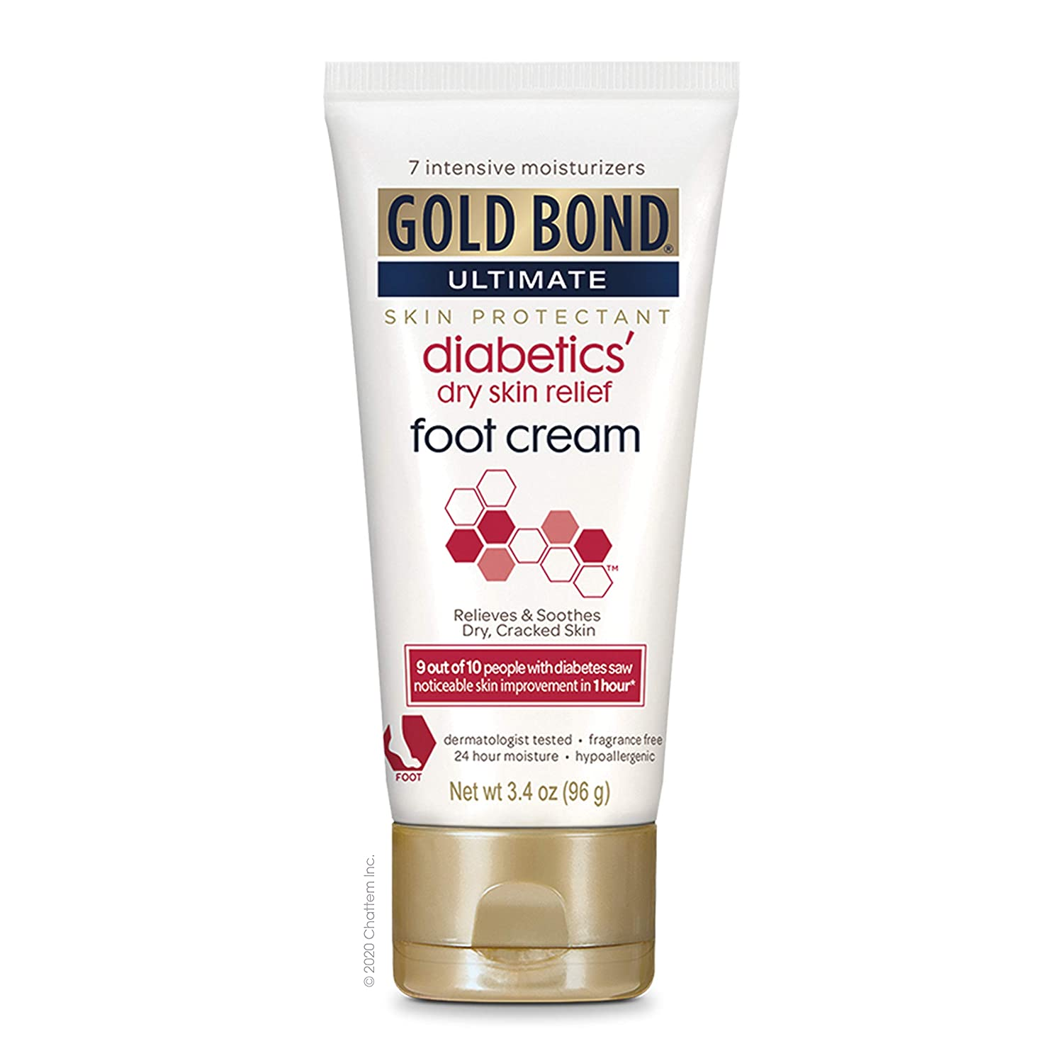 Gold Bond Ultimate Diabetics Dry Skin Relief, 4.5 Ounce: Health & Personal Care