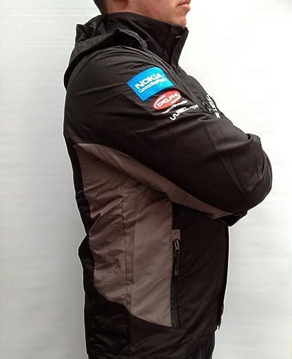 Monopoli de campeonatos WRC WORLD RALLY chaqueta resistente al viento, gris diseño de rayas: Amazon.es: Bricolaje y herramientas
