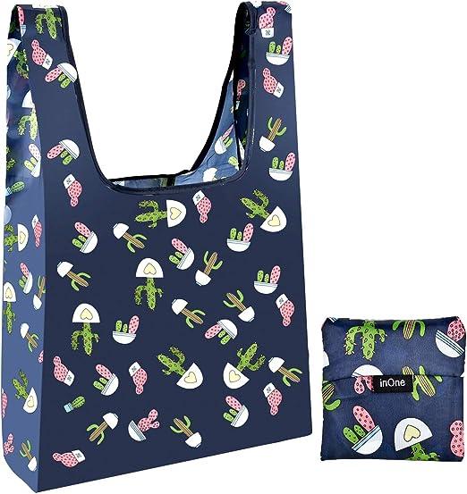 KEEP IN HANDBAG CLIP BAG//BAGS-FOLDABLE FOLDING SHOPPING TOTE SHOPPER