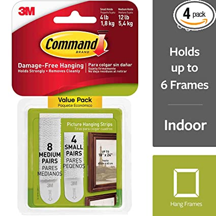 a8858d4e451 Command 17203 Picture Hanging Strips Variety Value Pack