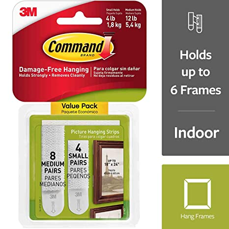 3m command mounting strips uk