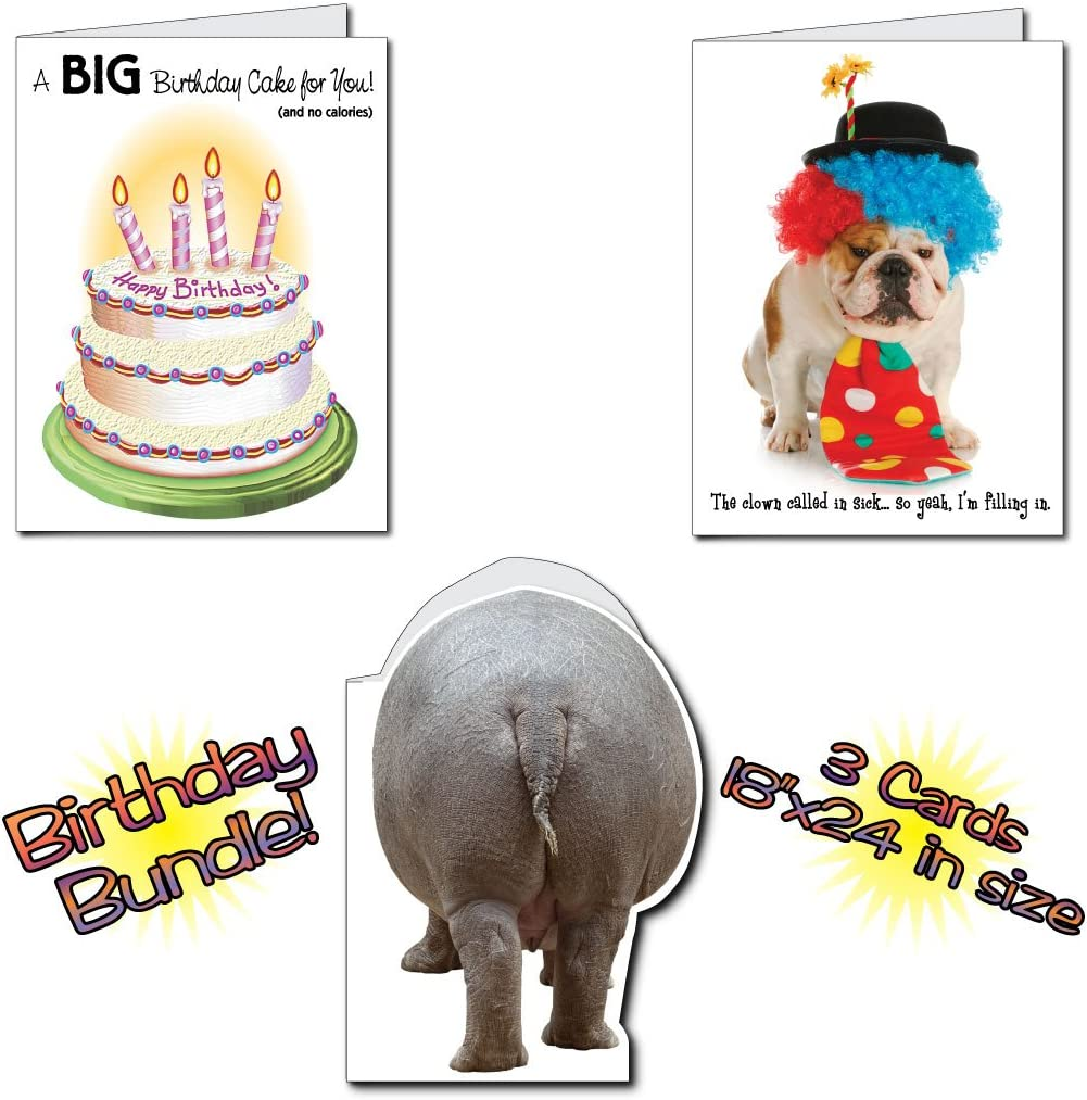Happy Birthday 3 Card Set