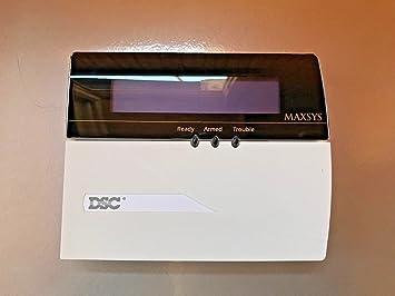 Sistema de alarma de seguridad DSC LCD4501 MAXSYS ...