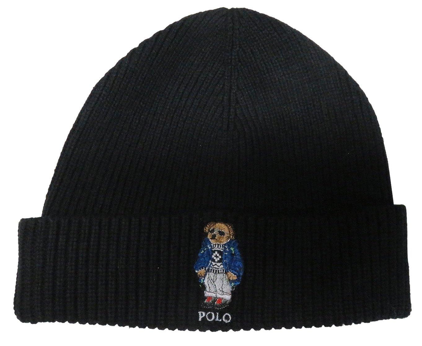 Polo Cap Men's Hat Skull Lauren Bear Ralph N80mwvn