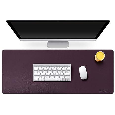 Amazing Mydours Pu Leather Desk Mat Pad Blotter Protector 37 415 7 Xxl Large Laptop Keyboard Mat Mouse Pad Both Side Waterproof Leather Desk Protective Download Free Architecture Designs Oxytwazosbritishbridgeorg