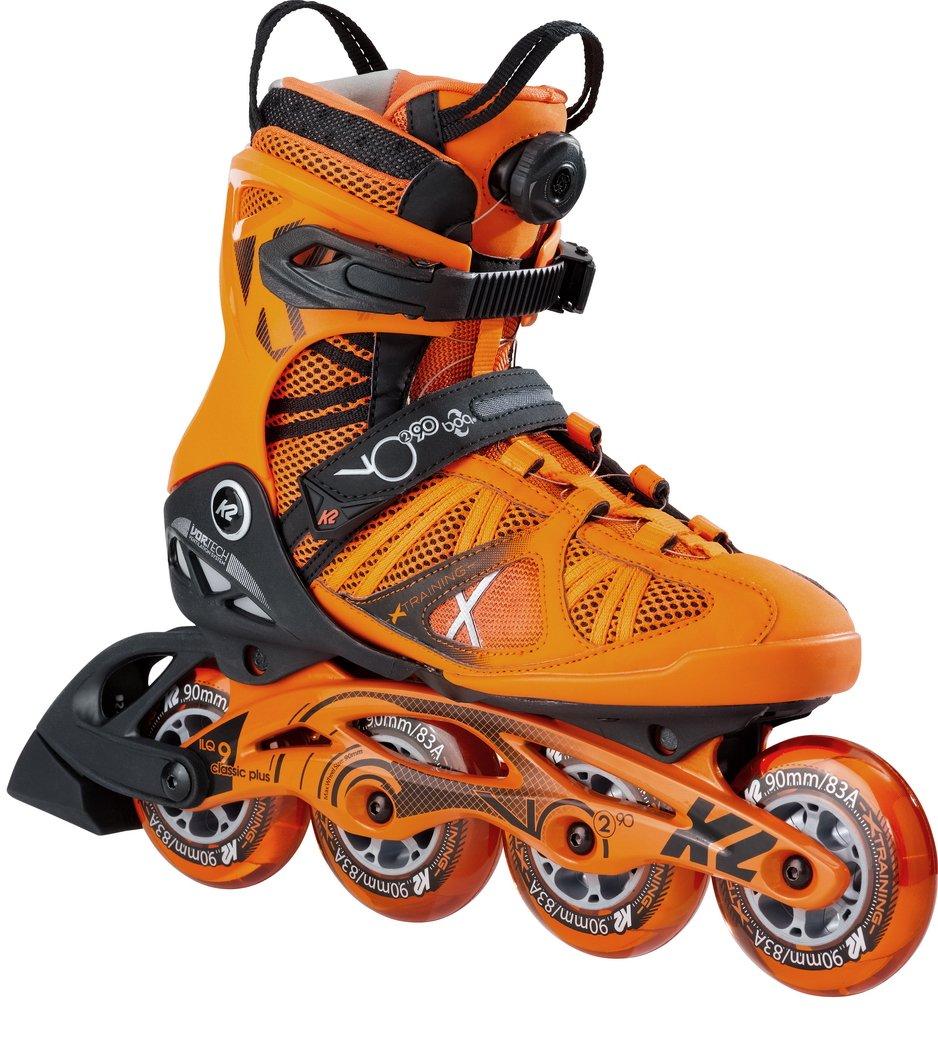 K2 Skate Vo2 90 Boa, Orange, 7 by K2 Skate