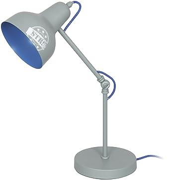 Gris Lf12025 À Métal X Lampe 17 36 Cm Ranex 47 Poser knO0P8w