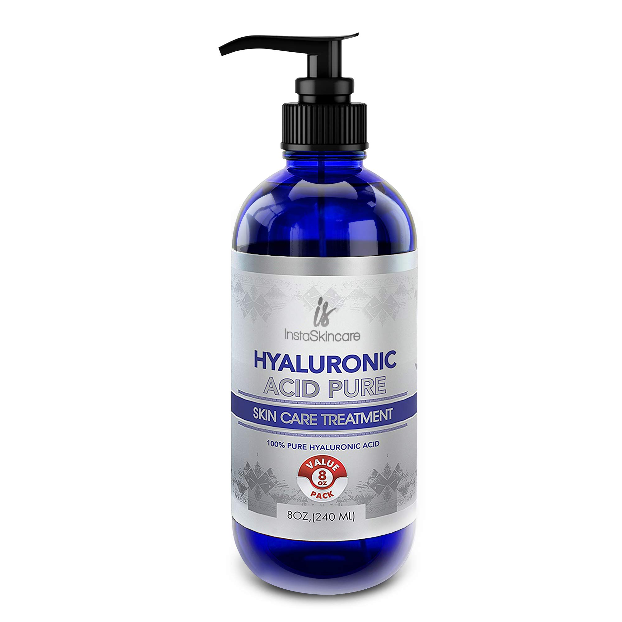 Hyaluronic Acid for Face (8oz) - 100% Pure Medical Quality Clinical Strength Formula - Anti aging formula for your skin