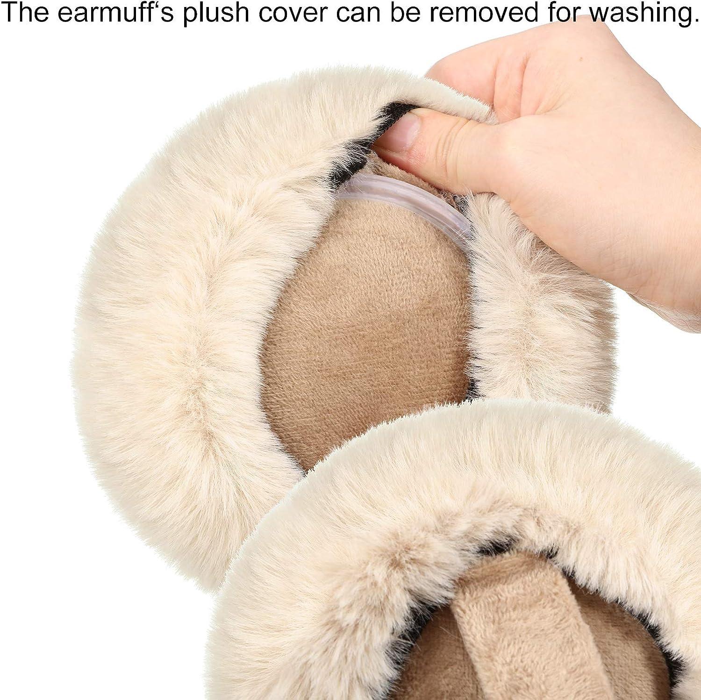 Paraorecchie per bambini caldi e soffici paraorecchie in peluche invernale carino antivento per ragazze