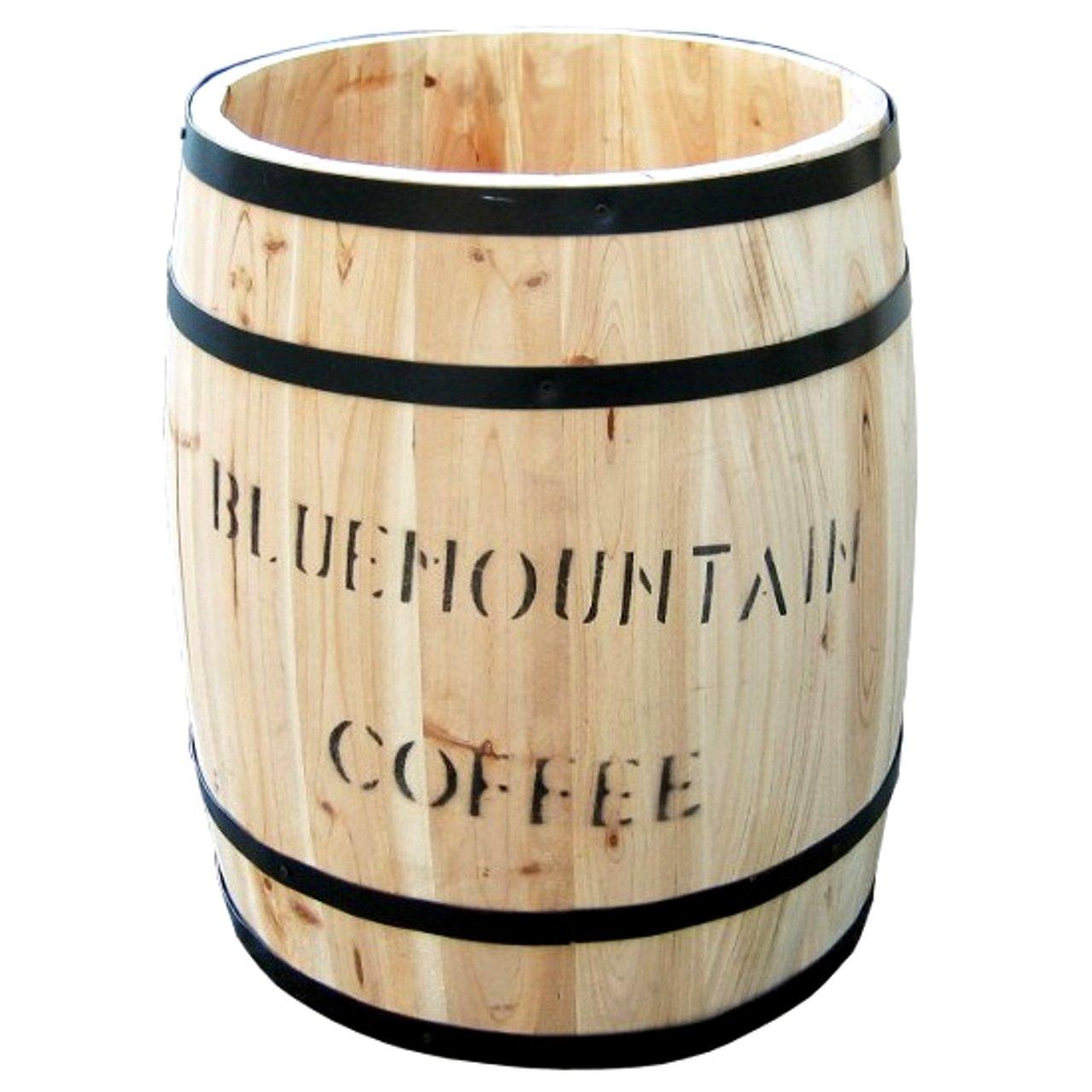 AHEART プランター 木製 コーヒー 樽 カバー スタンド 大型 小型 SI 372 大小2個組 B07D12C7Y2 大小2個組