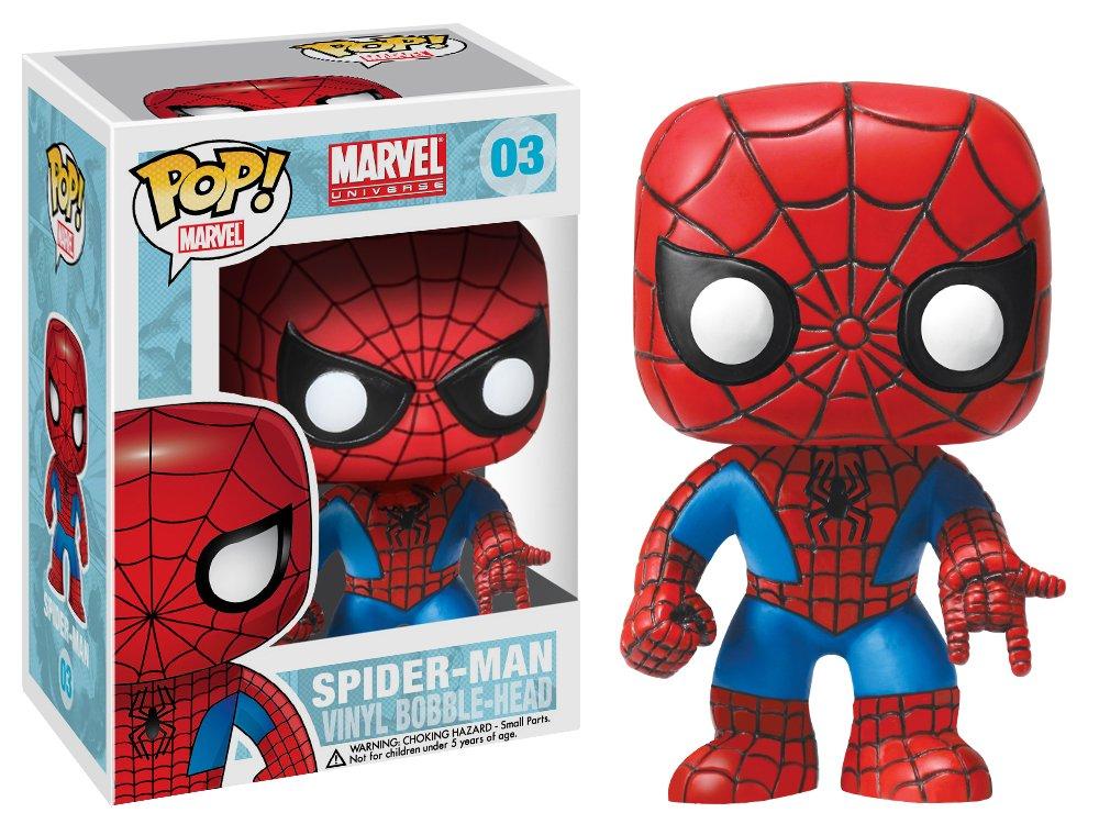 Spider Man Funko POP Marvel 4 Inch Vinyl Bobble Head Figure