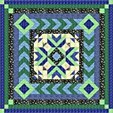 Quilt Kit Crowned Medallion/Cal. King