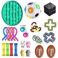 Fidget Set De Juguetes Sensoriales,22 Piezas Fidget Toys Juguetes Para La Ansiedad Juguetes Los Dedos DescompresióN…