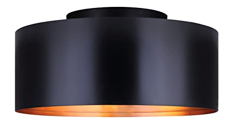 Amazon.com: Canarm ICH173B03BN18 candelabro 3 luces, negro ...