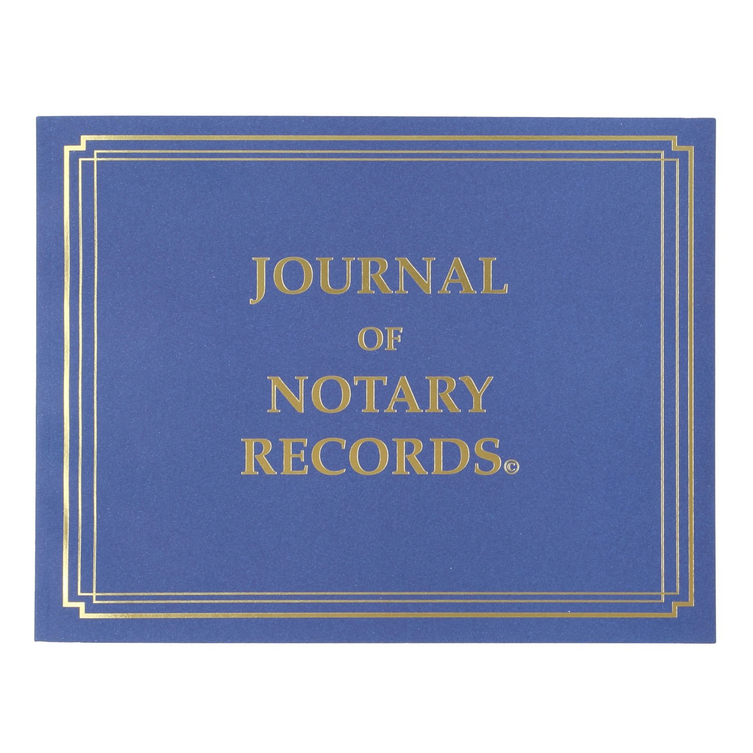 Amazon : Stampxpress Premium Notary Journal, Softcover, 140 Pages With  600 Entries, All States (nj) : Office Products