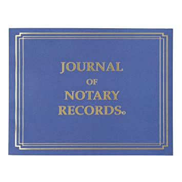 StampXpress Premium Notary Journal Softcover 140 Pages With 600 Entries All States