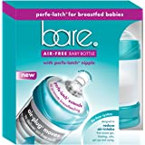 Bare Air-Free Feeding System, Perfe-Latch Nipple For Breastfed Babies - 4oz. Twin Pack