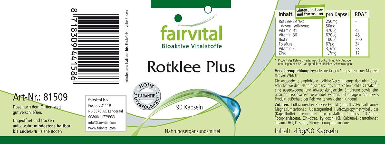 Extracto arroz rojo plus - Bote para 3 meses - VEGANO - Alta dosificación - 90 cápsulas - con isoflavonas, Vitaminas del complejo B, Vitamina E y zinc: ...