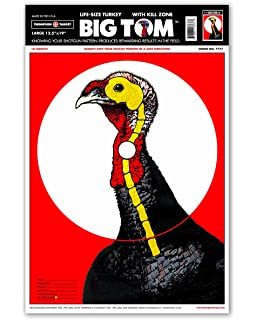 photograph relating to Printable Turkey Targets identify : Primos Shotgun Patterning Turkey Aim
