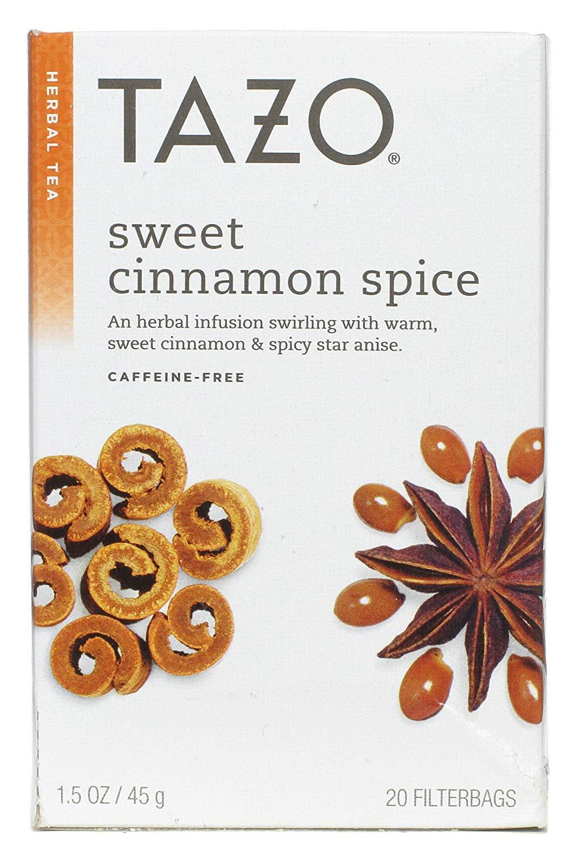Tazo Tea Herbal Sweet Cinnamon Spice Tea (3x20 bag) by TAZO