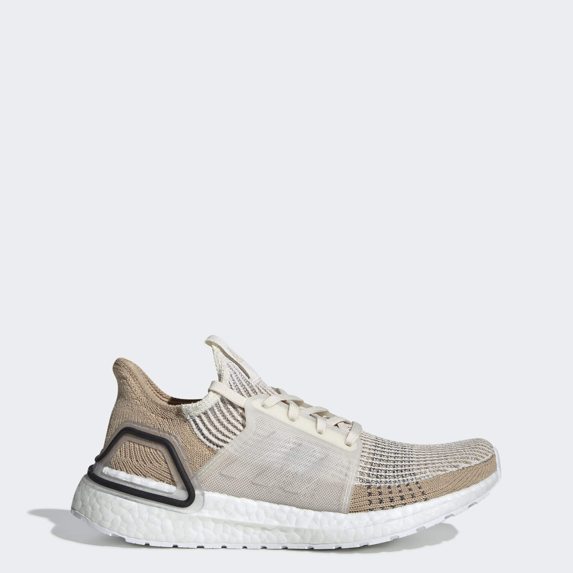 adidas Women's Ultraboost 19, Chalk White/Pale Nude/Black, 8 M US by adidas