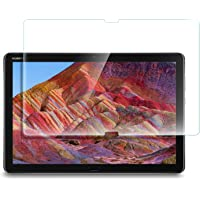 Yocktec Huawei MediaPad M5 Lite 10,1 Zoll Schutzfolie, gehärtetes Glas mit [9H Härte] [Crystal Clear] [Kratzfestigkeit] für Huawei MediaPad M5 Lite 10.1 Inch 2018 [1 Pack]