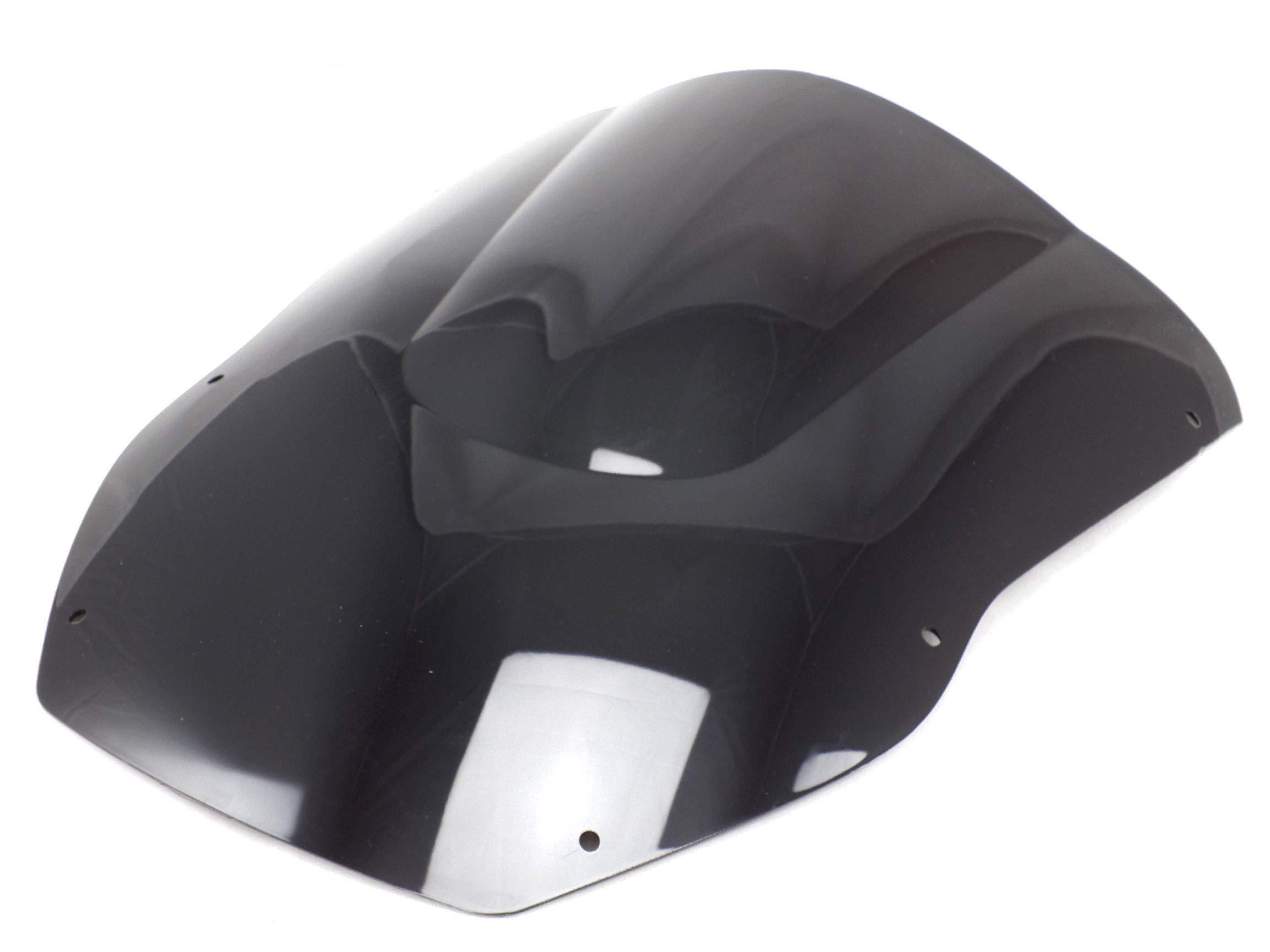 Motorcycle Double Bubble ABS Windshield Windscreen Screen Protector Wind Deflectors Shield for Kawasaki ZX-12R 2000-2001