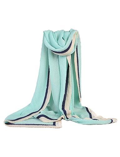 CIDEARY -  Sciarpa  - Donna Light Blue Taglia unica