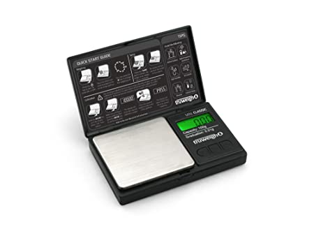 MINI CLASSIC Digital Mini Scale 100g x 0.01g Black